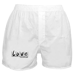 Love Is My Anti-State Boxer Shorts
