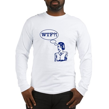 WTF Vintage Long Sleeve T-Shirt