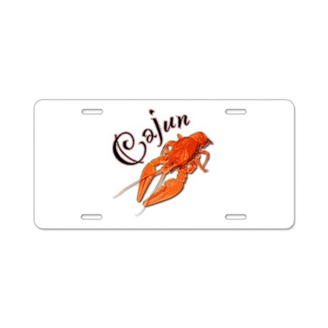 Cajun Aluminum License Plate