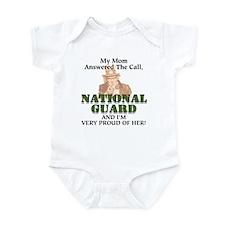 National Guard Mom Infant Creeper