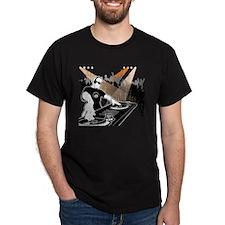 DJ 8-Ball - Distressed T-Shirt