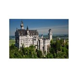 Neuschwanstein Castle Rectangle Magnet