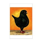 Schietti Modena Pigeon Mini Poster Print