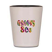 Groovy 80s Shot Glass