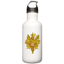 French Emblem Water Bottle