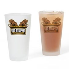 Got Stripes Tiger Drinking Glass
