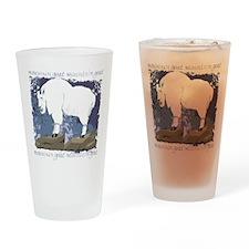 Mountain Goat Drinking Glass