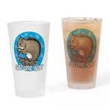 Nature Nut Drinking Glass