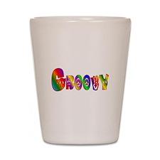 GROOVY Shot Glass