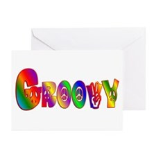 GROOVY Greeting Cards (Pk of 20)