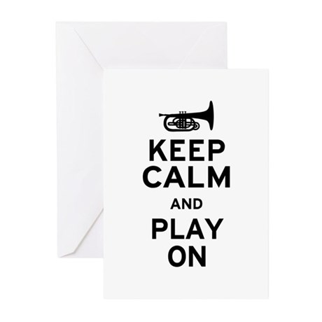 Keep Calm Greeting Cards (Pk of 20)