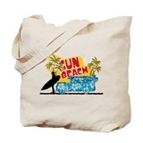 sun beach Tote Bag