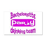 Cute Bachelorette party Car Magnet 20 x 12