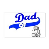 Cute Dad daddy father father's day papa pappi Car Magnet 20 x 12