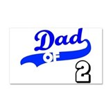 Unique New dad Car Magnet 20 x 12