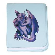 Gargoyle Tattoo baby blanket
