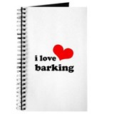 i love barking Journal
