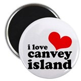 "i love canvey island 2.25"" Magnet (10 pack)"
