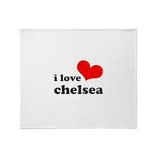 i love chelsea Throw Blanket