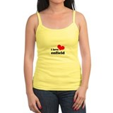 i love enfield Ladies Top