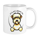 Funny Wheaten Terrier Small Mug
