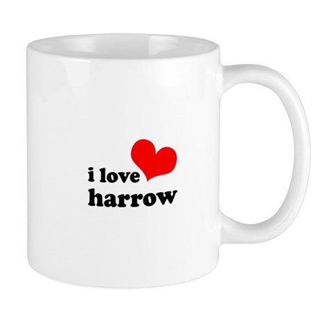 i love harrow Mug