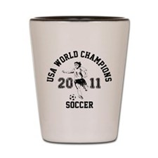 Cool Usa womens soccer Shot Glass