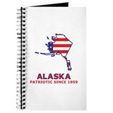 AK USA Flag Map 2 Journal
