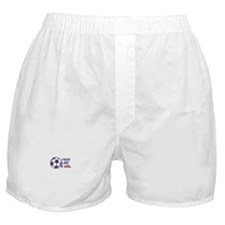 Kick Like A Girl Soccer Boxer Shorts