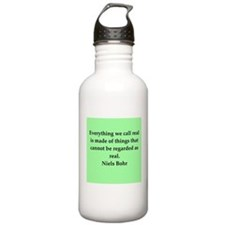 Niels Bohr quotes Sports Water Bottle