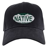 Native Colo License Plate Baseball Hat