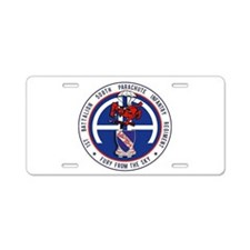 1st / 508th PIR Aluminum License Plate