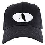 Black Raven on Raven Black Cap