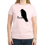 Black Raven on Raven Women's Light T-Shirt