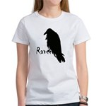 Black Raven on Raven Women's T-Shirt