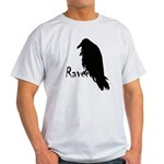 Black Raven on Raven Light T-Shirt