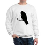 Black Raven on Raven Sweatshirt