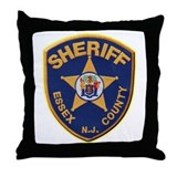 Essex County Sheriff Throw Pillow