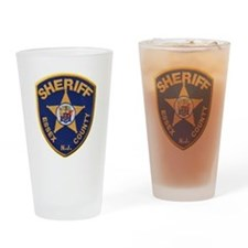Essex County Sheriff Drinking Glass