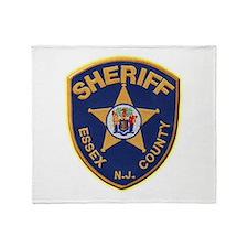 Essex County Sheriff Throw Blanket