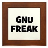 Gnu Freak Framed Tile