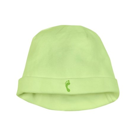 Footprint baby hat
