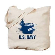 U.S. NAVY Air Craft Carrier Tote Bag