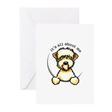 Funny Wheaten Terrier Greeting Cards (Pk of 20)