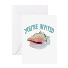 Island Invitation Greeting Card