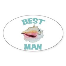 Island Best Man Decal