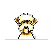 Funny Wheaten Terrier Car Magnet 20 x 12