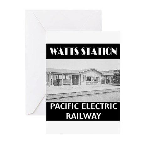 Watts Station Greeting Cards (Pk of 10)