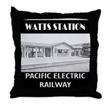 Watts Station Throw Pillow