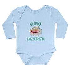 Beach Wedding Ring Bearer Long Sleeve Infant Bodys